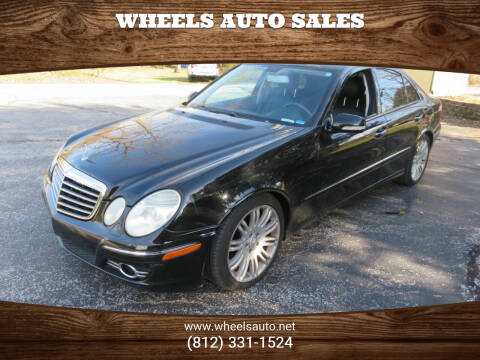 2007 Mercedes-Benz E-Class for sale at Wheels Auto Sales in Bloomington IN