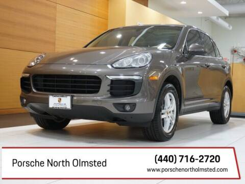 2016 Porsche Cayenne for sale at Porsche North Olmsted in North Olmsted OH