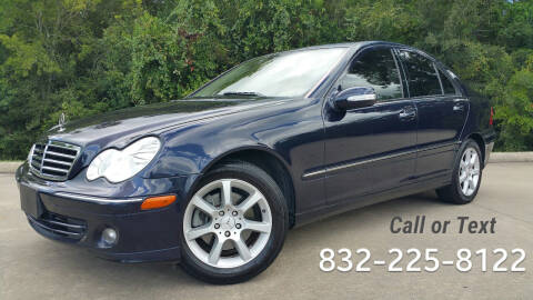 2007 Mercedes-Benz C-Class for sale at Houston Auto Preowned in Houston TX