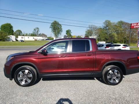 2019 Honda Ridgeline for sale at 220 Auto Sales in Rocky Mount VA