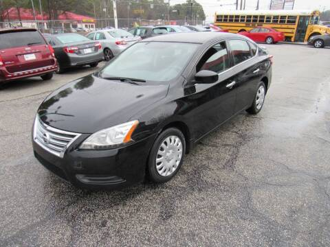 2015 Nissan Sentra for sale at King of Auto in Stone Mountain GA