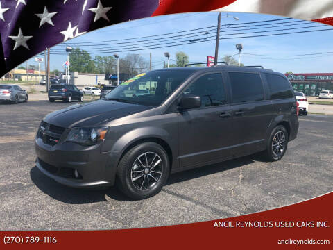 2018 Dodge Grand Caravan for sale at Ancil Reynolds Used Cars Inc. in Campbellsville KY