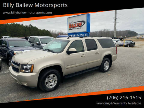2007 Chevrolet Suburban for sale at Billy Ballew Motorsports in Dawsonville GA