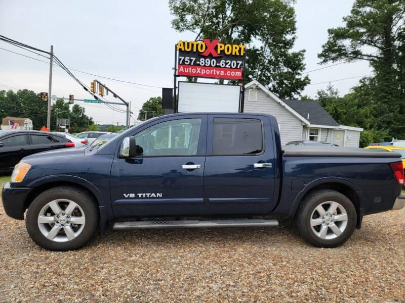 2008 Nissan Titan for sale at Autoxport in Newport News VA