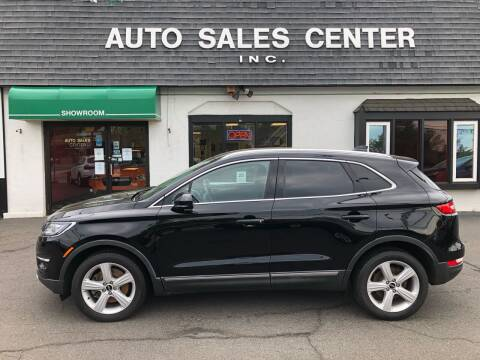2018 Lincoln MKC for sale at Auto Sales Center Inc in Holyoke MA