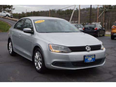 2012 Volkswagen Jetta for sale at VILLAGE MOTORS in South Berwick ME