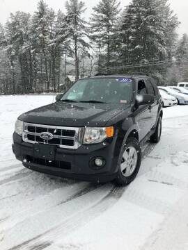 2010 Ford Escape for sale at Hornes Auto Sales LLC in Epping NH