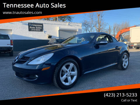 2006 Mercedes-Benz SLK for sale at Tennessee Auto Sales in Elizabethton TN