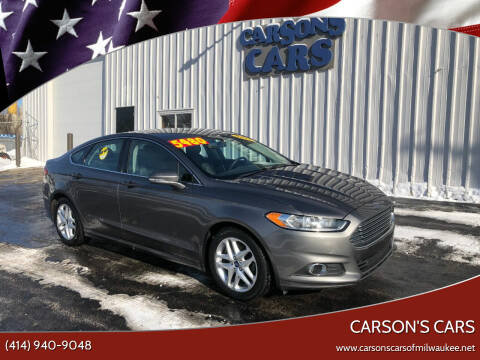 2013 Ford Fusion for sale at Carson's Cars in Milwaukee WI