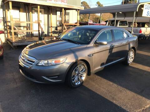 2011 Ford Taurus for sale at Texas 1 Auto Finance in Kemah TX