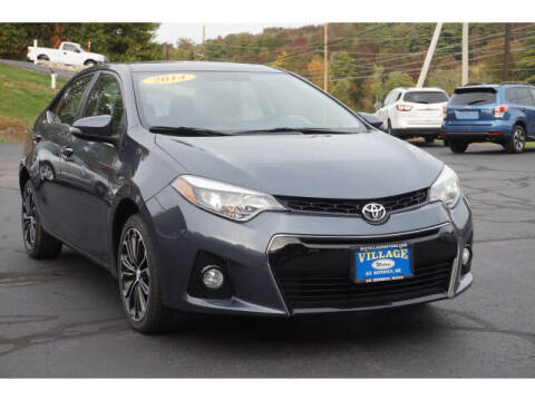 2014 Toyota Corolla for sale at VILLAGE MOTORS in South Berwick ME