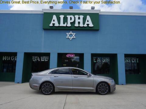 2016 Lincoln MKZ for sale at ALPHA AUTOMOBILE SALES, LLC in Lafayette LA