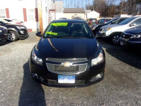 2014 Chevrolet Cruze for sale at Balic Autos Inc in Lanham MD