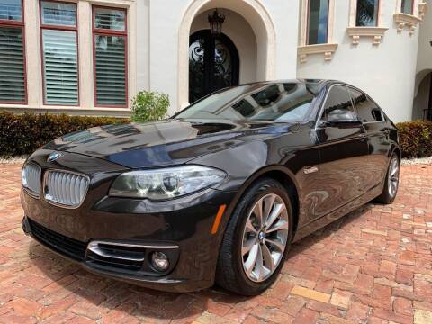 2014 BMW 5 Series for sale at Mirabella Motors in Tampa FL