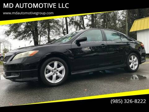 2007 Toyota Camry for sale at MD AUTOMOTIVE LLC in Slidell LA