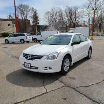 2012 Nissan Altima for sale at Bibian Brothers Auto Sales & Service in Joliet IL