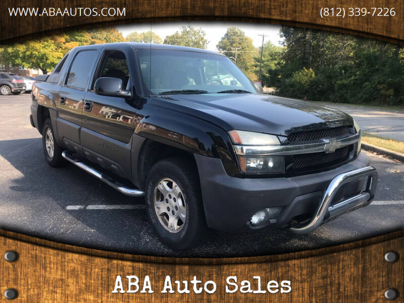 2003 Chevrolet Avalanche for sale at ABA Auto Sales in Bloomington IN