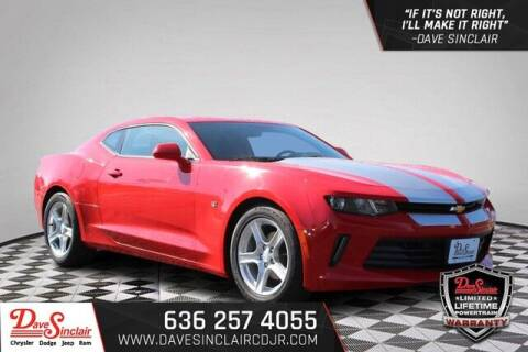2016 Chevrolet Camaro for sale at Dave Sinclair Chrysler Dodge Jeep Ram in Pacific MO