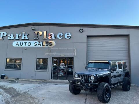 2014 Jeep Wrangler Unlimited for sale at PARK PLACE AUTO SALES in Houston TX