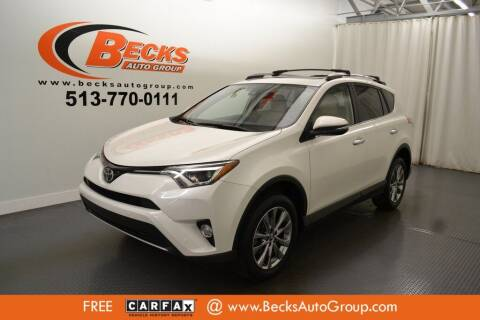 2017 Toyota RAV4 for sale at Becks Auto Group in Mason OH