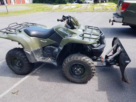 2007 Suzuki KingQuad 450 for sale at WILKINS MOTORSPORTS in Brewster NY