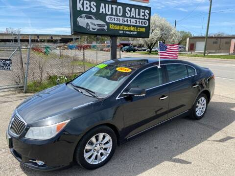 2013 Buick LaCrosse for sale at KBS Auto Sales in Cincinnati OH