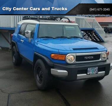 2007 Toyota FJ Cruiser for sale at City Center Cars and Trucks in Roseburg OR
