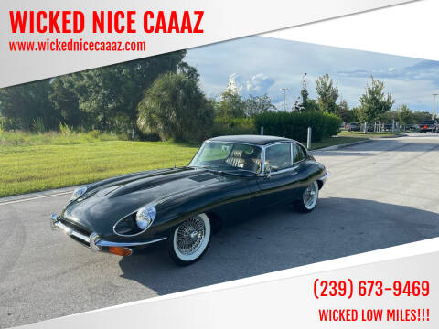 1969 Jaguar E-Type for sale at WICKED NICE CAAAZ in Cape Coral FL