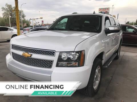 2007 Chevrolet Suburban for sale at Fiesta Motors Inc in Las Cruces NM