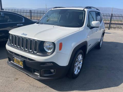 2018 Jeep Renegade for sale at Soledad Auto Sales in Soledad CA