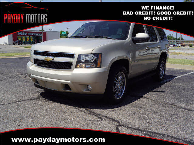 2007 Chevrolet Tahoe for sale at Payday Motors in Wichita KS
