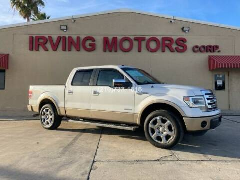 2014 Ford F-150 for sale at Irving Motors Corp in San Antonio TX