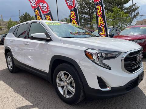 2018 GMC Terrain for sale at Duke City Auto LLC in Gallup NM