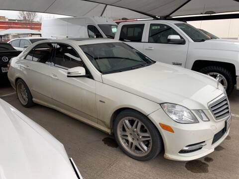 2012 Mercedes-Benz E-Class for sale at Excellence Auto Direct in Euless TX