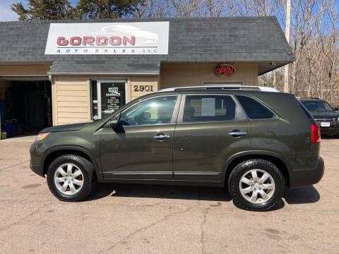 2011 Kia Sorento for sale at Gordon Auto Sales LLC in Sioux City IA
