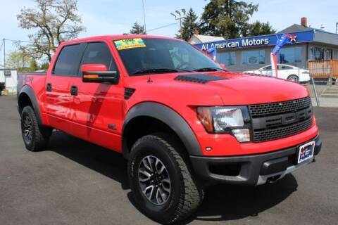 2012 Ford F-150 for sale at All American Motors in Tacoma WA