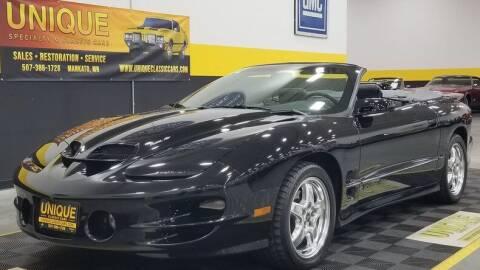 2002 Pontiac Firebird for sale at UNIQUE SPECIALTY & CLASSICS in Mankato MN