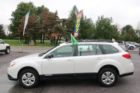 2012 Subaru Outback for sale at GEG Automotive in Gilbertsville PA