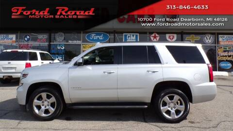 2017 Chevrolet Tahoe for sale at Ford Road Motor Sales in Dearborn MI