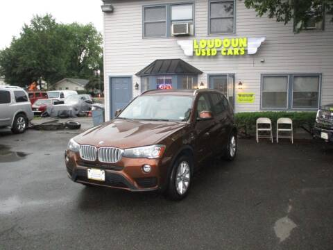 2017 BMW X3 for sale at Loudoun Used Cars in Leesburg VA