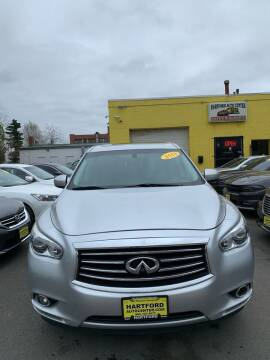 2014 Infiniti QX60 for sale at Hartford Auto Center in Hartford CT