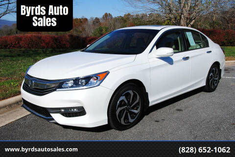 2016 Honda Accord for sale at Byrds Auto Sales in Marion NC