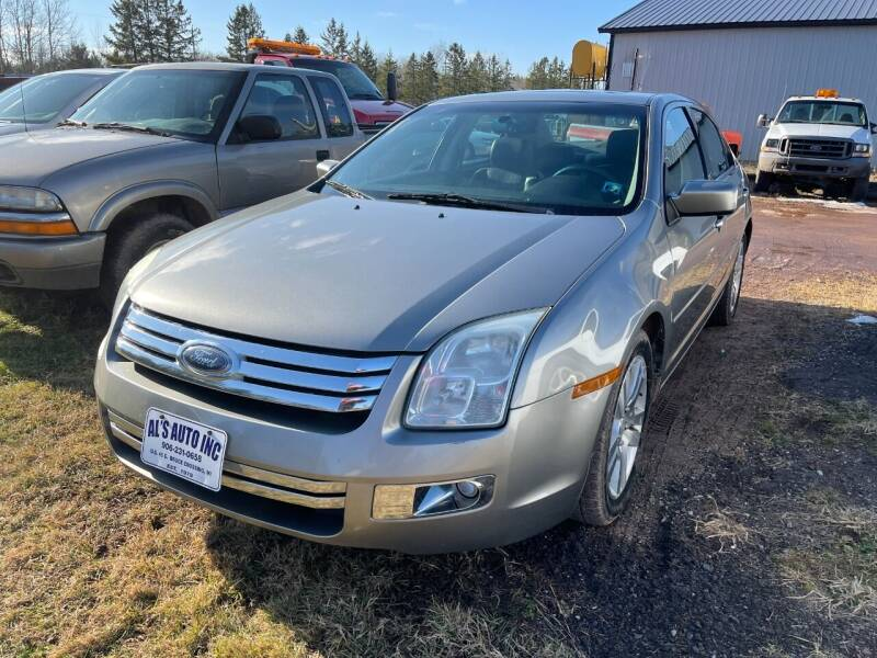 2008 Ford Fusion for sale at Al's Auto Inc. in Bruce Crossing MI