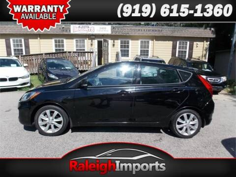2013 Hyundai Accent for sale at Raleigh Imports in Raleigh NC