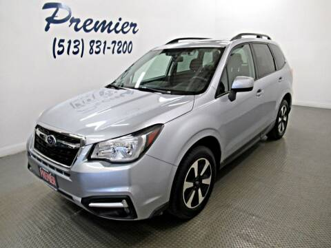 2018 Subaru Forester for sale at Premier Automotive Group in Milford OH