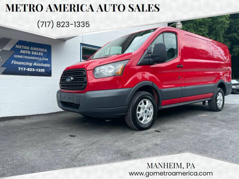 2015 Ford Transit Cargo for sale at METRO AMERICA AUTO SALES of Manheim in Manheim PA
