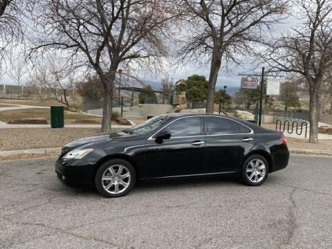 2007 Lexus ES 350 for sale at Top Gun Auto Sales, LLC in Albuquerque NM