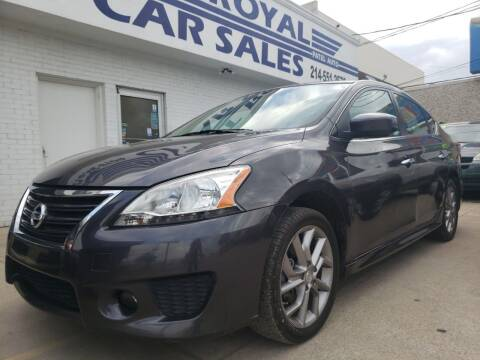 2014 Nissan Sentra for sale at Best Royal Car Sales in Dallas TX