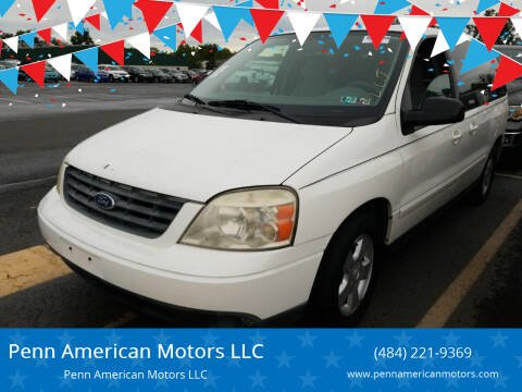 2004 Ford Freestar for sale at Penn American Motors LLC in Allentown PA