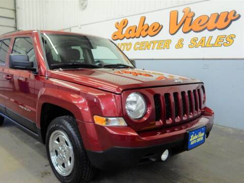 2013 Jeep Patriot for sale at Lake View Auto Center in Oshkosh WI